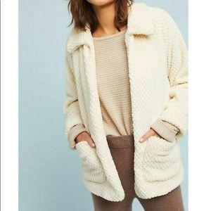 Eri + Ali Super Soft Cream Sherpa Jacket
